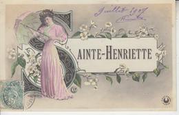 SAINTE HENRIETTE - Voornamen