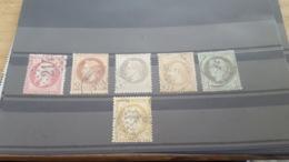 LOT 467754 TIMBRE DE FRANCE OBLITERE - 1853-1860 Napoléon III.