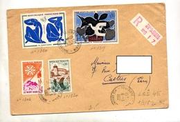 Lettre Recommandée Toulouse Sur Ingres Braque - Postmark Collection (Covers)