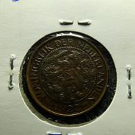 Netherlands 1 Cent 1922 Varnished - 1 Cent