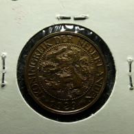 Netherlands 1 Cent 1929 Varnished - [ 3] 1815-… : Royaume Des Pays-Bas