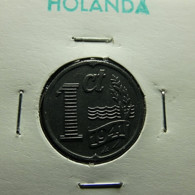 Netherlands 1 Cent 1941 Varnished - [ 3] 1815-… : Royaume Des Pays-Bas
