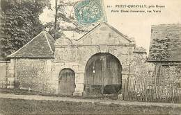 - Dpts Div -ref-AL773- Seine Maritime - Petit Quevilly - Porte Diane Chasseresse - Rue Verte - Architecture - - Autres Communes