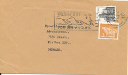Ireland Cover Sent To Denmark 1983 - 1949-... Republic Of Ireland