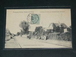 LIVRY GARGAN   1910 /    VUE RUE ANIMEE + COMMERCES ...   / CIRC /  EDITION - Livry Gargan