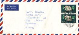 Kenya Air Mail Cover Sent To Denmark 13-1-1981 - Kenya (1963-...)