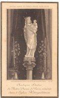 ANTIQUE STATUE DE NOTRE DAME DE PARIS  IMAGE PIEUSE RELIGIEUSE RELIGIEUX HOLY CARD SANTINO PRENTJE - Imágenes Religiosas