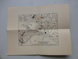 DOVER Douvres Plan Congrès British Association (TSF) 1899 ; RARE ; PAP05 - Landkarten