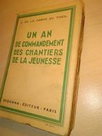 Cjf  Chantiers De La Jeunesse    J.de Laporte Du Theil - Livres