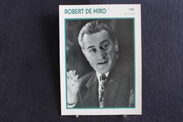 Sp-Acteur,réalisateur Et Producteur De Cinéma Américain, Robert De Niro, Né En 1943 à New York. D'origine Italienne - Acteurs