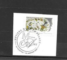258  OBL Y & T  Métier D'art Cachet Quimper   « Oblitération Premier Jour » 15B/64 - France