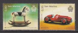 2015 San Marino Toys Europa Complete Set Of 2 MNH   ** BELOW FACE VALUE *** - San Marino