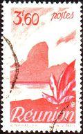 Réunion Obl. N° 273 - Détail De La Série émise En 1947 - 3f60 Rouge-brun Et Rose - Oblitérés