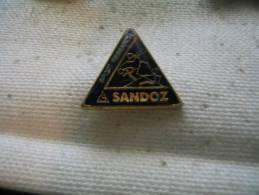 Pin's Sport Research. SANDOZ - Sports D'hiver