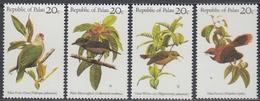 Palau 1983 - Birds  - Mi 5-8 ** MNH - Palau