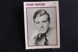 Sp-Acteur, 1975 - Robert Redford Est Un Acteur Et Réalisateur Américain Né Le 18 Août 19362 à Santa Monica (Californie). - Acteurs