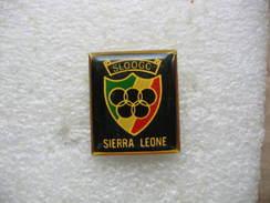 Pin's JO Jeux Olympiques Sloogc Sierra Leone - Jeux Olympiques