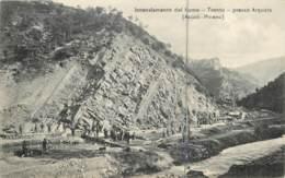Italie - Ascoli Piceno - Incanalamento Del Fiume - Tronto - Presso Arquata - TOP 1910 - Ascoli Piceno