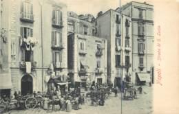 Italie - Napoli - Strada Di S. Lucia - Napoli (Naples)