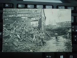 Cpa GIVENCHY, Feldpost 6. Bayer. Res. Div. 31-12-1916, Adressée à Nuremberg Nünberg Voir Tampons. - Oorlog 1914-18