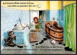 C7191 - Scherzkarte Humor - Kur Kurbad - Verlag Dr. Greiff Kaltenbrunn - Humor