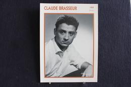 Sp-Acteur,français - 1955 - Claude Brasseur, Son Vrai Nom Claude Espinasse - Né En 1936 à Neuilly-sur-Seine. - Acteurs