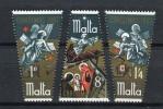 Malta 1967. Yvert  366-68 ** MNH. - Malta