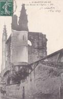 ILE DE RE , Les Ruines De L'eglise . (( Lot 282 )) - Ile De Ré
