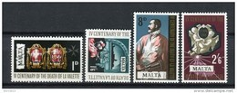 Malta 1968. Yvert  378-81 ** MNH. - Malta