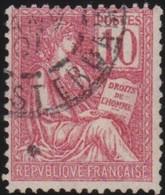 France  .   Yvert   .     116      .        O          .        Oblitéré - France