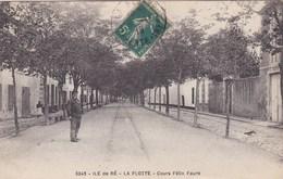 ILE DE RE ,LA FLOTTE , Cours Felix FAURE (( Lot 284 )) - Ile De Ré