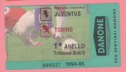 Biglietto D'ingresso Stadio Juventus Torino 1994/95 - Biglietti D'ingresso