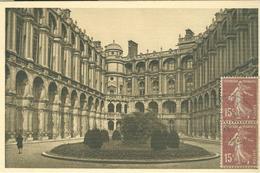 St Germain En Laye Chateau La Cour D'honneur,1930 - ITALIA,MILANO - St. Germain En Laye (Castello)