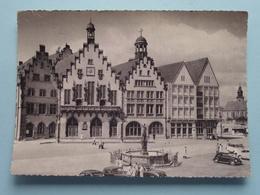 Römer Und Gerechtigkeitsbrunnen ( Hans Andres / Detail VW Rechts Onderaan ) Anno 1958 ( See Photo ) ! - Frankfurt A. Main