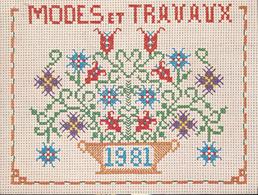 Calendrier 1982 De MODE Et TRAVAUX - Calendars