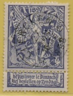 +MW-4248      *    CLERCKEN *   OCB 71  Sterstempel      COBA   + 30   ZELDZAAM OP DEZE UITGIFTE - 1894-1896 Expositions