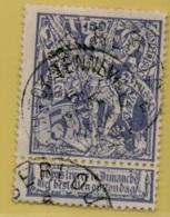 +MW-4254    AMBERLOUP  *sterstempel +50 & BACONFOY-TENNEVILLE +8   OCB 71    ZELDZAAM OP DEZE UITGIFTE - 1894-1896 Expositions