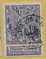 +MW-4258   *  FALAEN  *    Sterstempel OCB 71   COBA + 15     ZELDZAAM OP DEZE UITGIFTE - 1894-1896 Expositions