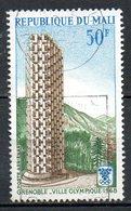 MALI. PA 53 Oblitéré De 1968. J.O. De Grenoble. - Winter 1968: Grenoble