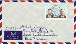 Malta - Umschlag Echt Gelaufen / Cover Used  (T331) - Malta