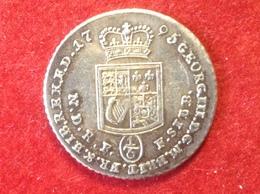 Münze 1/6 Taler Braunschweig Calenberg George III. Silber 1795 PLM KM 401 - Taler Et Doppeltaler
