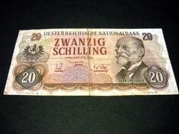 AUTRICHE 20 Schilling 02/07/1956, Pick KM N°136, AUSTRIA - Autriche