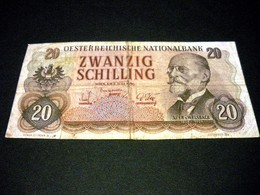 AUTRICHE 20 Schilling 02/07/1956, Pick KM N°136, AUSTRIA - Austria
