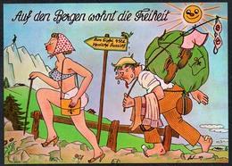 C7196 - Scherzkarte Humor - Erotik Domina - Verlag Rühl - Humor