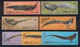 Laos 1986 Mi.nr: Vögel Pauwen Oblitérés / Used / Gestempeld - Paons