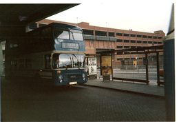 35mm ORIGINAL BUS PHOTO NORFOLK CAISTER TOWN CENTER N°8 - F086 - Other