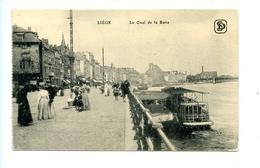 Liège - Le Quai De La Batte / Julien De Clerck / Landsturm-Inf. Batl. Meiningen XI. 4. 3. Comp. (Feldpost) - Liege