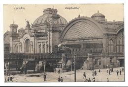Dresden. - Hauptbahnhof. - Dresden
