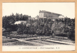 CPA Vittel Contrexeville, Hotel Cosmopolitain, Ungel. - Vittel Contrexeville