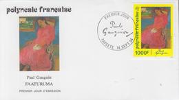 Enveloppe  FDC  1er  Jour   POLYNESIE   Oeuvre  De   Paul   GAUGUIN   1994 - FDC